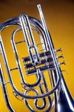 Marching French Horn Yellow Royalty Free Stock Photos