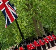 Marching Guardsmen Stock Image