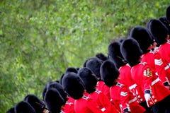 Marching Guardsmen Royalty Free Stock Image