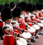 Marching Guardsmen Stock Images