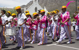 Marching minstrel band South Africa Royalty Free Stock Image