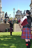 Marching Pipe Band Major Royalty Free Stock Photos