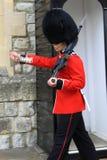 Marching Royal Guard Stock Photography