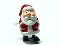 Marching santa claus. Christmas toy Stock Images