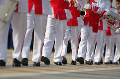 Marching in unision Royalty Free Stock Photos