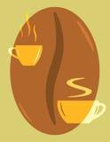 Marchio del caffè Immagine Stock