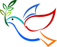 Marchio del piccione Immagini Stock Libere da Diritti