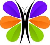 Marchio della farfalla Immagini Stock Libere da Diritti