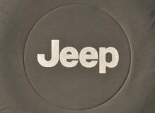 Marchio della jeep Immagini Stock Libere da Diritti