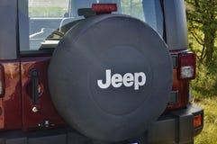 Marchio della jeep Fotografia Stock Libera da Diritti