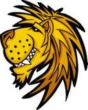 Marchio della mascotte del leone Fotografia Stock Libera da Diritti