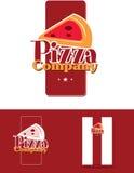 Marchio della pizza Immagini Stock