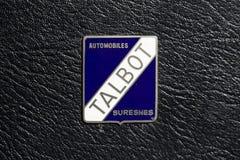 Marchio delle automobili di Talbot Fotografia Stock Libera da Diritti
