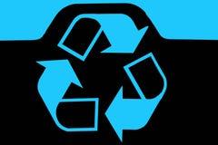 Marchio dello scomparto di riciclaggio Immagine Stock Libera da Diritti