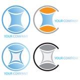 Marchio di affari dell'azienda Illustrazione di Stock