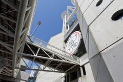 Marchio di Ajax Amsterdam sull'arena di Amsterdam Immagini Stock