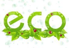 Marchio di Eco Immagini Stock Libere da Diritti