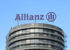 Marchio di fabbrica dell'Allianz Fotografie Stock Libere da Diritti