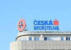 Marchio di fabbrica dello sporitelna di Ceska Immagini Stock