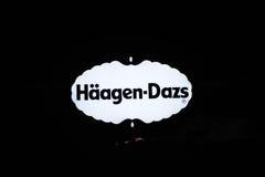 Marchio di Haagen-Dazs Immagini Stock Libere da Diritti