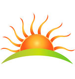 Marchio di Sun Immagini Stock