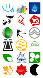 Marchio di vettore & elemento di disegno Fotografia Stock