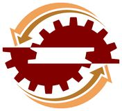 Marchio industriale illustrazione vettoriale