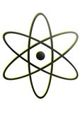 Marchio nucleare Immagini Stock