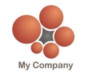 Marchio per un'azienda di cmmunication Immagine Stock Libera da Diritti