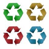 Marchio riciclato Immagine Stock
