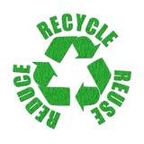 Marchio riciclato Immagini Stock