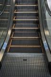 Marchio vuoto delle scale della scala mobile Immagine Stock Libera da Diritti