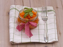 Marchwiana sałatka zdjęcie stock