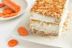 Marchwianego torta deser Fotografia Royalty Free