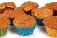 Marchwianego torta muffins Zdjęcia Royalty Free