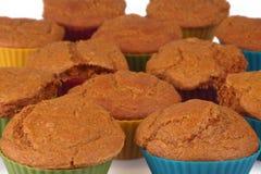 Marchwianego torta muffins Obraz Royalty Free