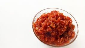 Marchwiany Słodki naczynie Indiański Specjalny Okazyjny produkt spożywczy zdjęcie stock