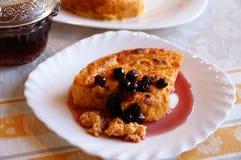 marchwiany serowy domowej roboty pudding Zdjęcie Royalty Free