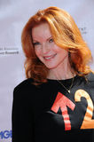 Marcia Cross, i supporti Fotografia Stock