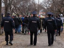 Marcia di Monstration Immagini Stock Libere da Diritti
