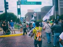 132 marcia di protesta Immagini Stock Libere da Diritti