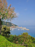 Marciana Jachthafen, Elba-Insel, Italien stockfotografie