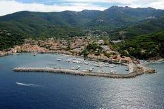 Marciana Marina-Elba island Royalty Free Stock Photos