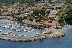 Marciana Marina-Elba island Stock Images