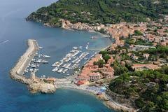 Marciana Marina-Elba island Royalty Free Stock Photography