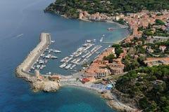 Marciana Marina-Elba island Stock Photo