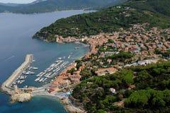 Marciana Marina-Elba island Stock Photography