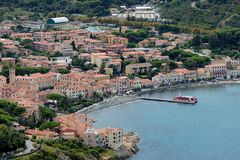 Marciana Marina-Elba island Stock Photos