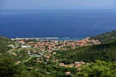 Marciana Marina, Elba, Toskana, Italien stockfoto