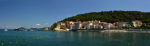 Marciana Marina, Elba, Toskana, Italien stockfotos
